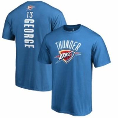 Fanatics Branded ファナティクス ブランド スポーツ用品  Fanatics Branded Paul George Oklahoma City Thunder Blue Backer Name & Num