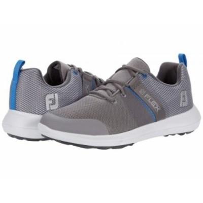 FootJoy フットジョイ メンズ 男性用 シューズ 靴 スニーカー 運動靴 Flex Grey/Blue【送料無料】