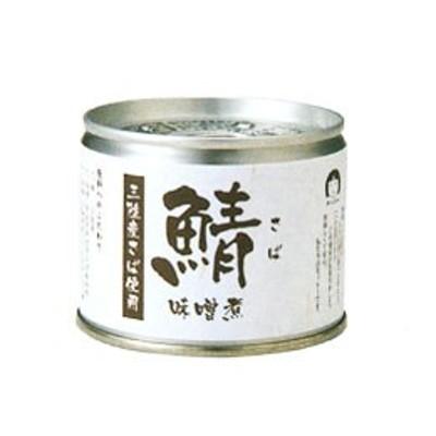 さばみそ煮 缶詰(190g)【伊藤食品】