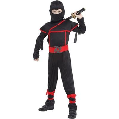 [Biwinky] 忍者 仮装 武士 コスプレ 衣装 子供 キッズ コスチューム 男の子 戦士 なりきり 変装 万聖節 ハロウィン パーティー イベン