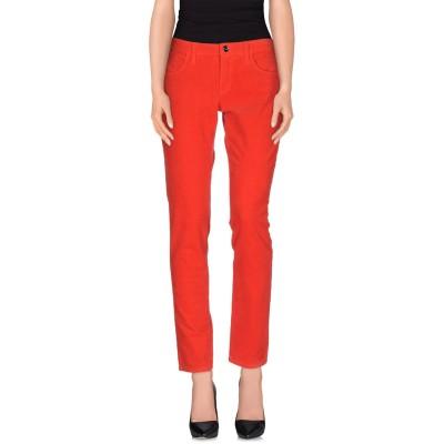 ブルーガール ブルマリン BLUGIRL BLUMARINE パンツ レッド 42 コットン 97% / ポリウレタン 3% パンツ