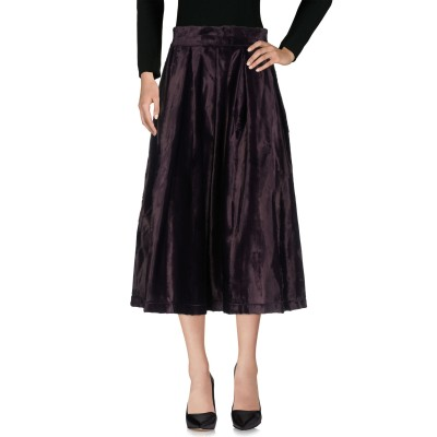 デパートメント 5 DEPARTMENT 5 7分丈スカート ディープパープル M 64% コットン 36% レーヨン 7分丈スカート