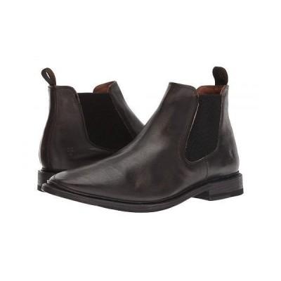 Frye フライ メンズ 男性用 シューズ 靴 ブーツ チェルシーブーツ Paul Chelsea - Black Brush-Off Full Grain