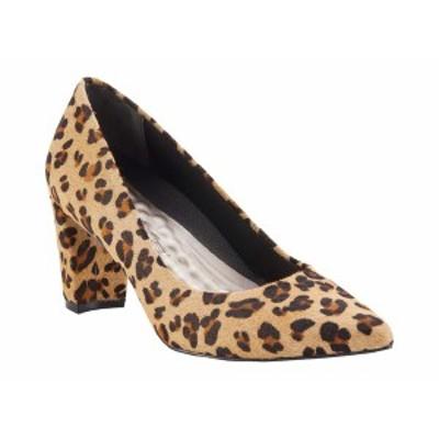 ウォーキング クレイドル レディース ヒール シューズ Samantha Baby Leopard Calf Hair Leather
