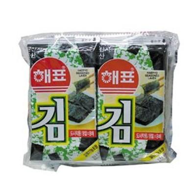 『ヘピョ』味付けのり(弁当用・10個x8枚) 韓国のり 韓国海苔 韓国料理 韓国食材