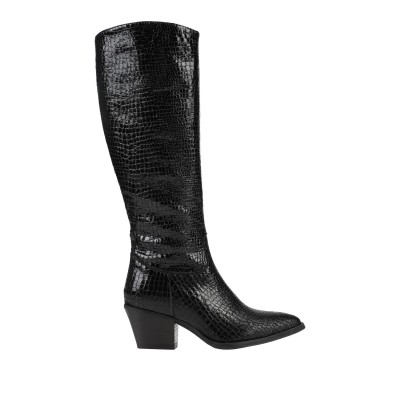 DIVINE FOLLIE ブーツ ブラック 36 紡績繊維 ブーツ