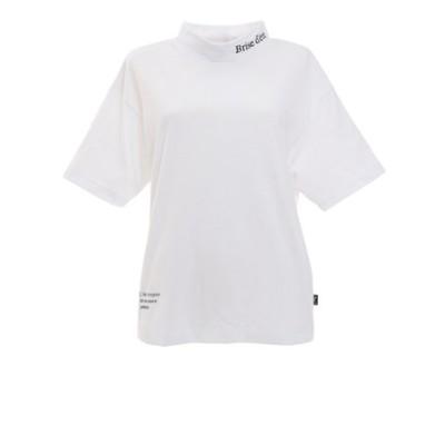 ウィッテム(HUITIEME)洗っても機能が続く ずっとカットUV モックネックTシャツ HU21SEG864025WHT
