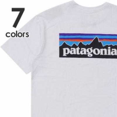 (2020新作)新品 パタゴニア Patagonia Ms P-6 Logo Responsibili Tee ロゴ レスポンシビリ Tシャツ REGULAR FIT レギュラーフィット 3850