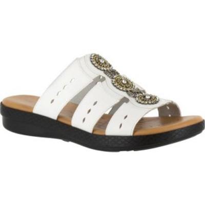 イージーストリート Easy Street レディース サンダル・ミュール シューズ・靴 Nori Slide White Synthetic/Gore