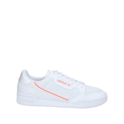ADIDAS ORIGINALS スニーカー&テニスシューズ(ローカット) ホワイト 6.5 紡績繊維 スニーカー&テニスシューズ(ローカット)