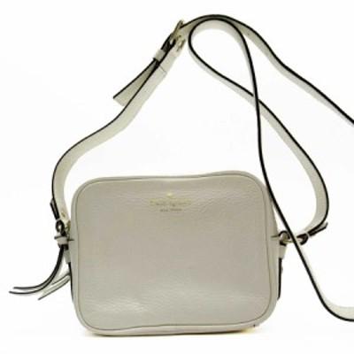 【おすすめ】【中古】ケイトスペード 斜め掛けショルダーバッグ    オフホワイト系 a1815a