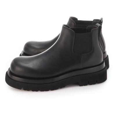 ボッテガヴェネタ BOTTEGA VENETA ブーツ THE LUG BOOTS 大きいサイズあり ブラック メンズ 634403-vbs50-1000