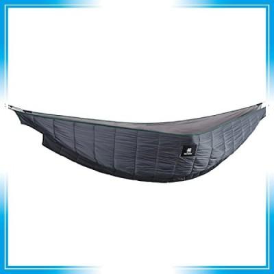OneTigris ハンモック式寝袋 2人用 3シーズン ハンモックに取り付け アンダーキルト 防寒用 キャンプ