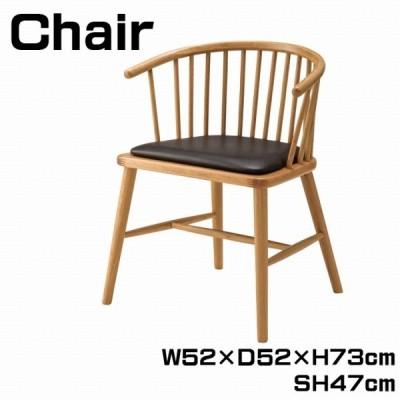 チェア ダイニングチェア ウィンザーチェア 幅52cm 椅子 いす 食卓椅子 チェアー ダイニングチェアー リビング ダイニング パーソナルチェア HOC-76