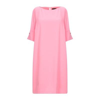 アトス ロンバルディーニ ATOS LOMBARDINI ミニワンピース&ドレス ピンク 40 ポリエステル 100% ミニワンピース&ドレス