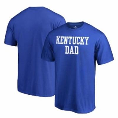 Fanatics Branded ファナティクス ブランド スポーツ用品  Fanatics Branded Kentucky Wildcats Royal Team Dad Crewne