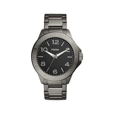 Fossil Men's Modern Century Three-Hand Smoke-Tone Stainless Steel Watch BQ2333【並行輸入品】
