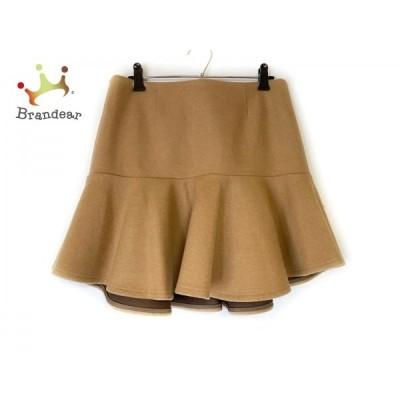 ミューズデドゥーズィエムクラス スカート サイズ38 M レディース ライトブラウン   スペシャル特価 20200904