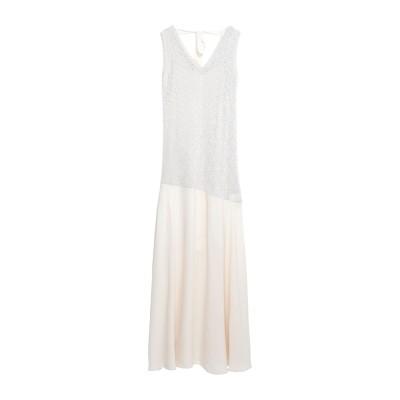カオス KAOS ロングワンピース&ドレス サンド XS レーヨン 70% / ナイロン 15% / ポリエステル 15% ロングワンピース&ドレス