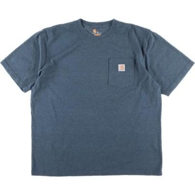カーハート Carhartt ORIGINAL FIT ワンポイントロゴポケットTシャツ メンズXL /eaa159469