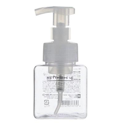ベストコ ネトヨン・レ ディスペンサー(スクエア 泡タイプ 250ml/ クリア) 詰め替えボトル ND-4341 返品種別A