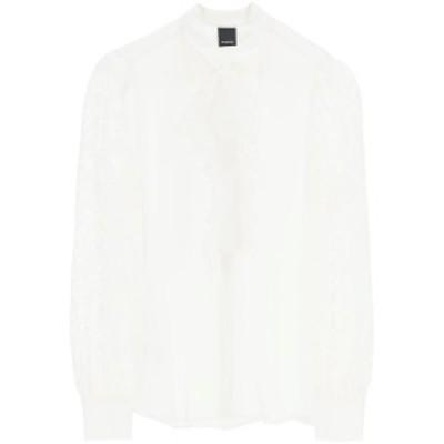 PINKO/ピンコ ドレスシャツ BIANCO BIANCO NEVE Pinko  レディース 1G1528 Y56W ik