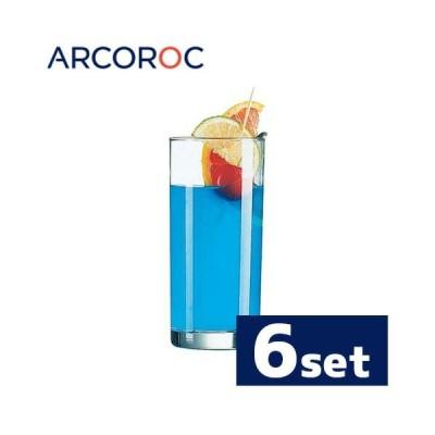Arcoroc アルコロック プリンセサ タンブラー12オンス J4079 350cc 6個入り