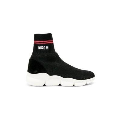 【残り1点!】【サイズ:37】エムエスジーエム MSGM レディース シューズ・靴 スニーカー Z Waves Sneaker Black