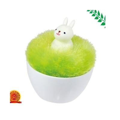 【マーナ(MARNA) アニマルポンポンクリーナー ウサギ S375B[代引選択不可]】