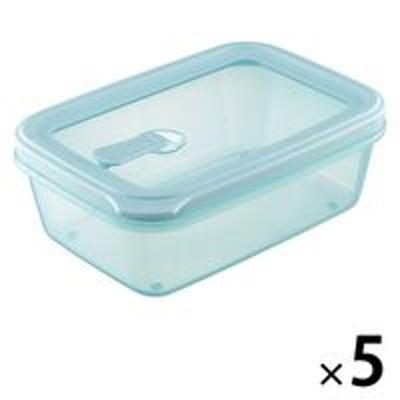 リス【アウトレット】リベラリスタ フードコンテナ シールL SB レンジ・食洗器可 1セット(5個) リス