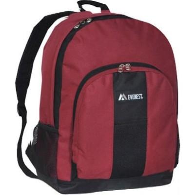 エベレスト デザインズ Everest レディース バックパック・リュック バッグ Dual Side Mesh Pocket Backpack BP2072 Burgundy/Black