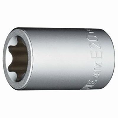 """トネ(TONE) E型トルクスソケット HP4TX-E20 差込角12.7mm(1/2"""") E20"""