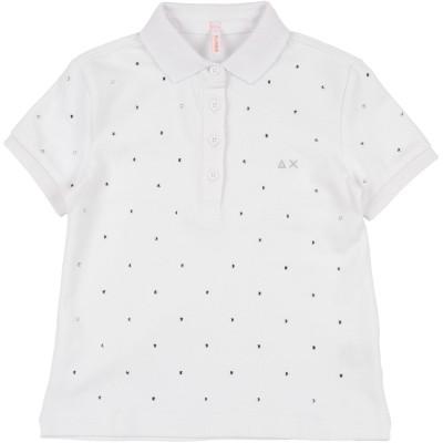 サンシックスティエイト SUN 68 ポロシャツ ホワイト 4 コットン 95% / ポリウレタン 5% ポロシャツ
