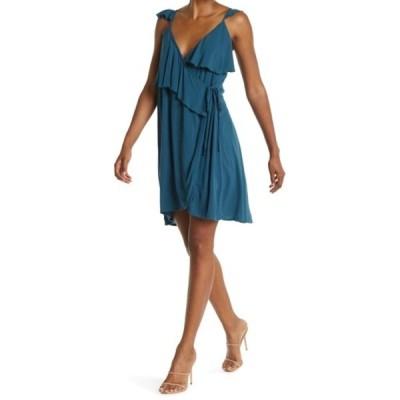オニール レディース ワンピース トップス Margie Wrap Dress DEEP OCEAN
