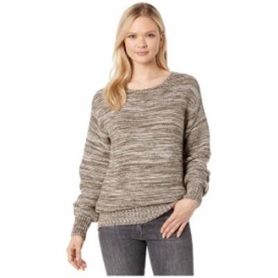 フィルソン レディース ニット・セーター アウター Lake Quinault Crew Neck Sweater Cream/Olive Mel