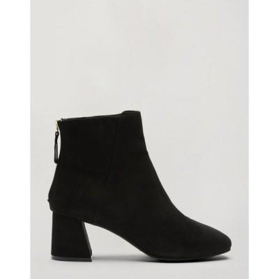 ミスセルフフリッジ レディース ブーツ&レインブーツ シューズ Miss Selfridge ankle boots in black Black