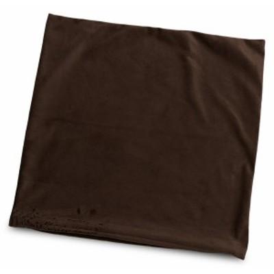 クッションカバー 約45×45cm マイクロシールボア ブラウン 日本製 起毛 茶系 45角 背あて セアテ 背当て 腰当て 腰あて ランバーサポー