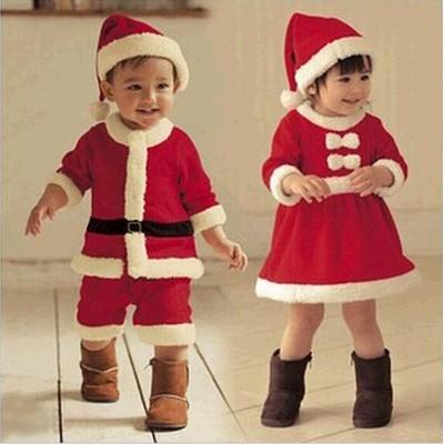 大人気サンタ クリスマス 子供用 キッズ コスプレ コスチューム レディース サンタクロース  サンタ コスプレ クリスマスドレス クリスマス 仮装 可愛い イベント パーティー女の子 男の子