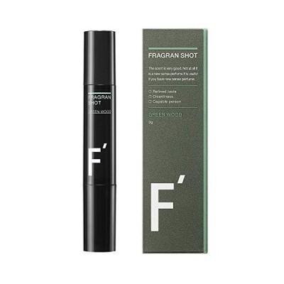 練り香水 LIFE BOOSTER F'(エフダッシュ) フレグランショット グリーンウッドの香り
