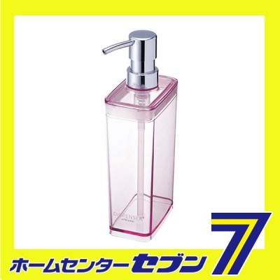 ディスペンサースリム S550 ピンク アスベル ASVEL [詰替えボトル 詰め替え 詰替 バス用品 お風呂用品 洗面用品]