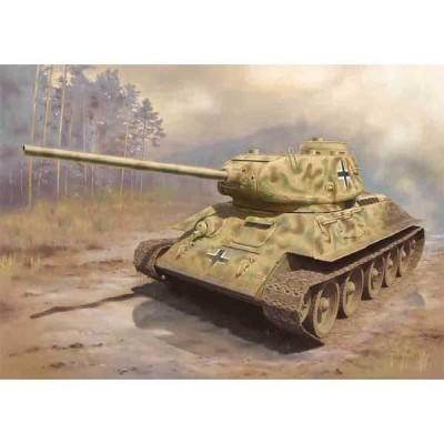 ドラゴンモデル 1/ 72 WW.II ドイツ軍 鹵獲戦車 T-34/ 85(DR7564)プラモデル 返品種別B