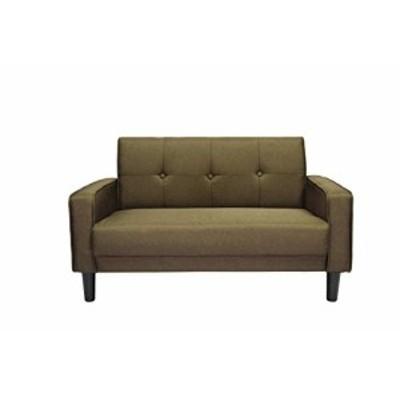 【送料無料】OSLEEP ソファー 2人掛け ローソファー sofa 簡単組み立て ぴったりフィット ソファーカバー 肘付き おしゃれ WF037851 (ブ