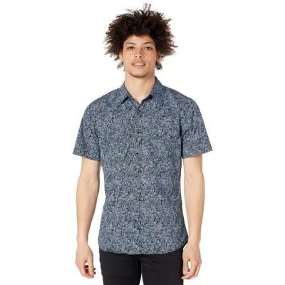 ロックアンドロールカウボーイ メンズ シャツ トップス Short Sleeve Print Snap Shirt B1S8090