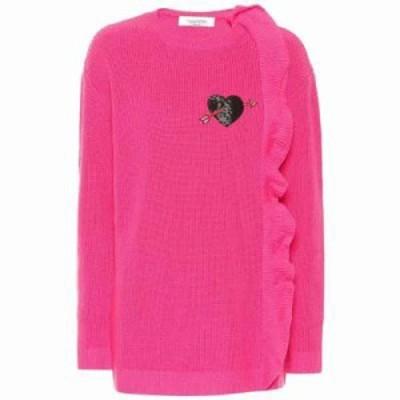 ヴァレンティノ ニット・セーター Cashmere sweater Fuschia Pink