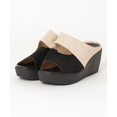 ZealMarket/SFW / 履くだけで美脚効果のある厚底サンダル WOMEN シューズ > サンダル