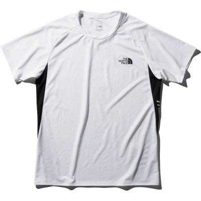 THE NORTH FACE ノースフェイス S/Sアンペアサイドロゴクルー NT12082 W メンズスポーツウェア 半袖機能Tシャツ メンズ W セール