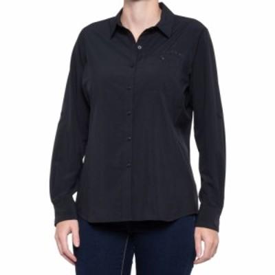 アリアト Ariat レディース トップス VentTEK II Stretch Shirt - UPF 50+. Long Sleeve Black
