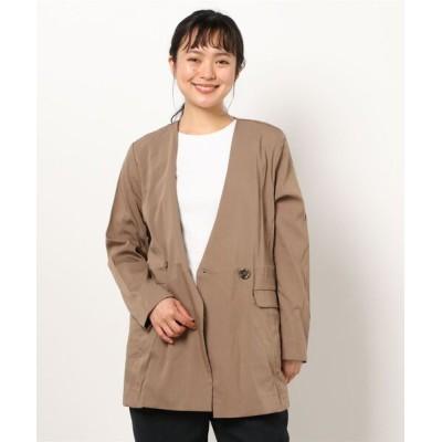 ROSE BUD / 一重ノーカラージャケット WOMEN ジャケット/アウター > ダウンジャケット/コート