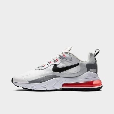ナイキ メンズ エアマックス270 Nike Air Max 270 React スニーカー White/Flash Crimson/Cool Grey/Black