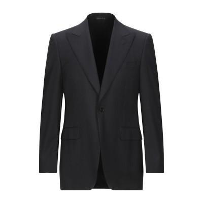 カナーリ CANALI テーラードジャケット ダークブルー 50 バージンウール テーラードジャケット